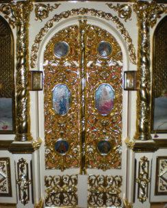 Реставрация иконостаса в храме г.Малорита