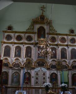 Реставрация иконостаса в с.Тур