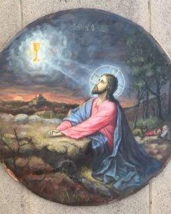 икона моление о чаше
