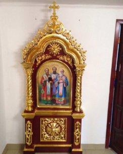 киот для храмовой иконы