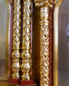 Резные колонны