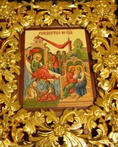 писаная икона Рождества Богородицы