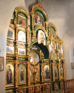 иконостас в церковь на заказ