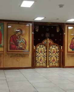 резные царские врата