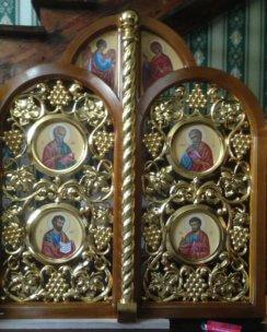 царские врата в греческом стиле