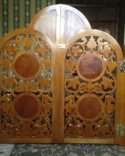 деревянные царские врата