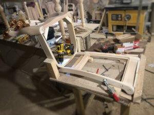 сборка стульев