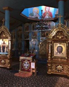 Напольные киоты для храмов