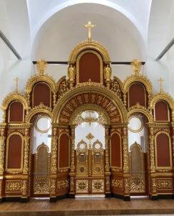 Монастырский иконостас