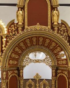 арка над царскими вратами